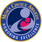 Seal and Logo for Mom's Choice Awards, Honoring Excellence