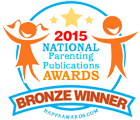 National Parenting Publications Awards Bronze Winner Seal