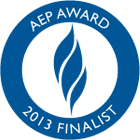 Seal and Logo for AEP AWARD Finalist 2013