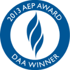 Seal and Logo for AEP DAA Winner 2013