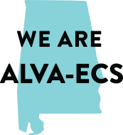 A Graphic that reads We are ALVA