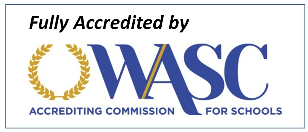 Logo of Accreditation of the Western Association of Schools and Colleges