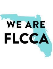 Graphic with text We are FLCCA