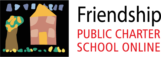 Logo of Friendship PCS Online - Powered by K12