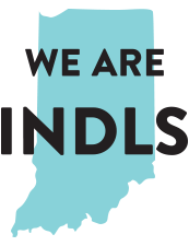 A Graphic that reads We are INDLS