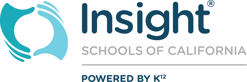 Logo of Insight Schools of California - Powered by K12