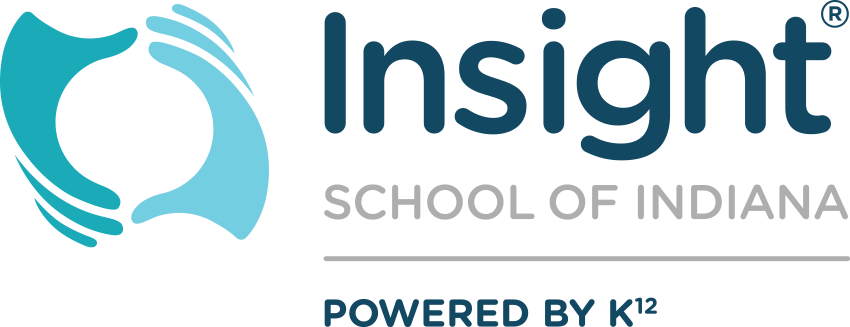 Logo of Insight School of Indiana - Powered by K12