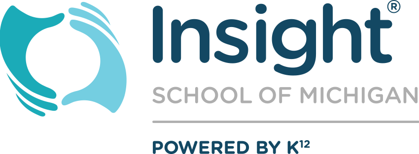 Logo of Insight School of Michigan - Powered by K12