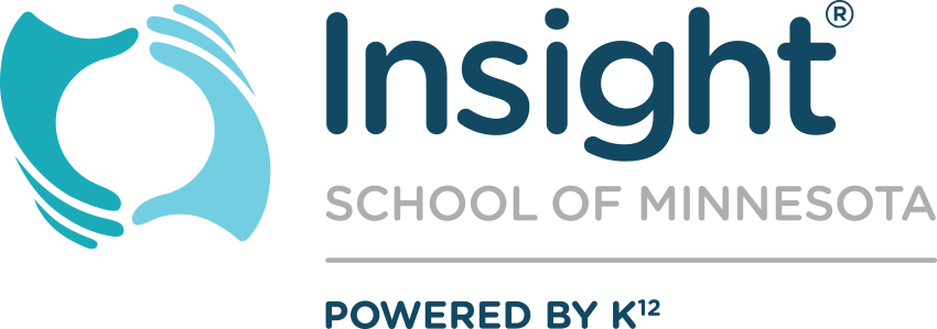Logo of Insight School of Minnesota - Powered by K12