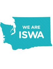 Washington State with We Are ISWA text