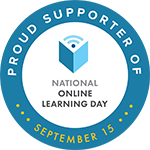 National Online Learning Day Badge