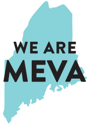 A Graphic that reads We are MEVA