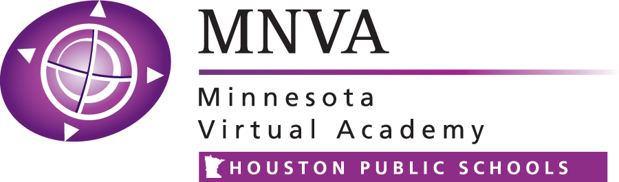 Logo of Minnesota Virtual Academy - Powered by K12