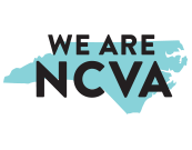 A Graphic that reads We are NCVA