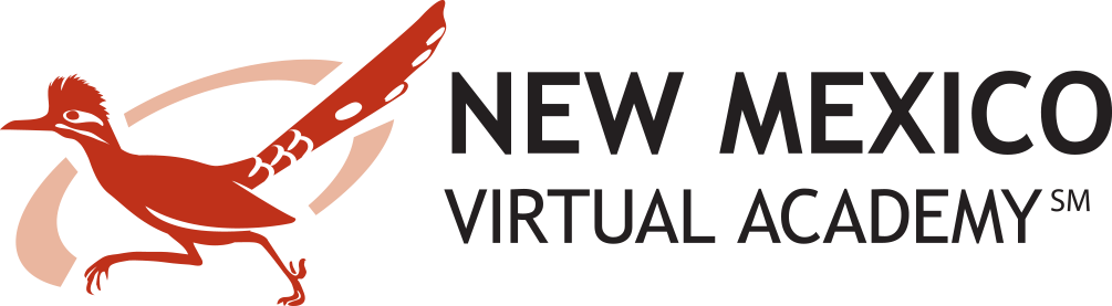 Logo of New Mexico Virtual Academy - Powered by K12