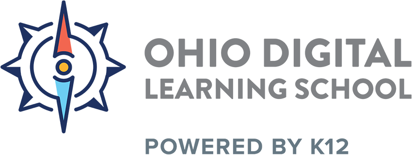 Logo of Ohio Digital Learning School - Powered by K12