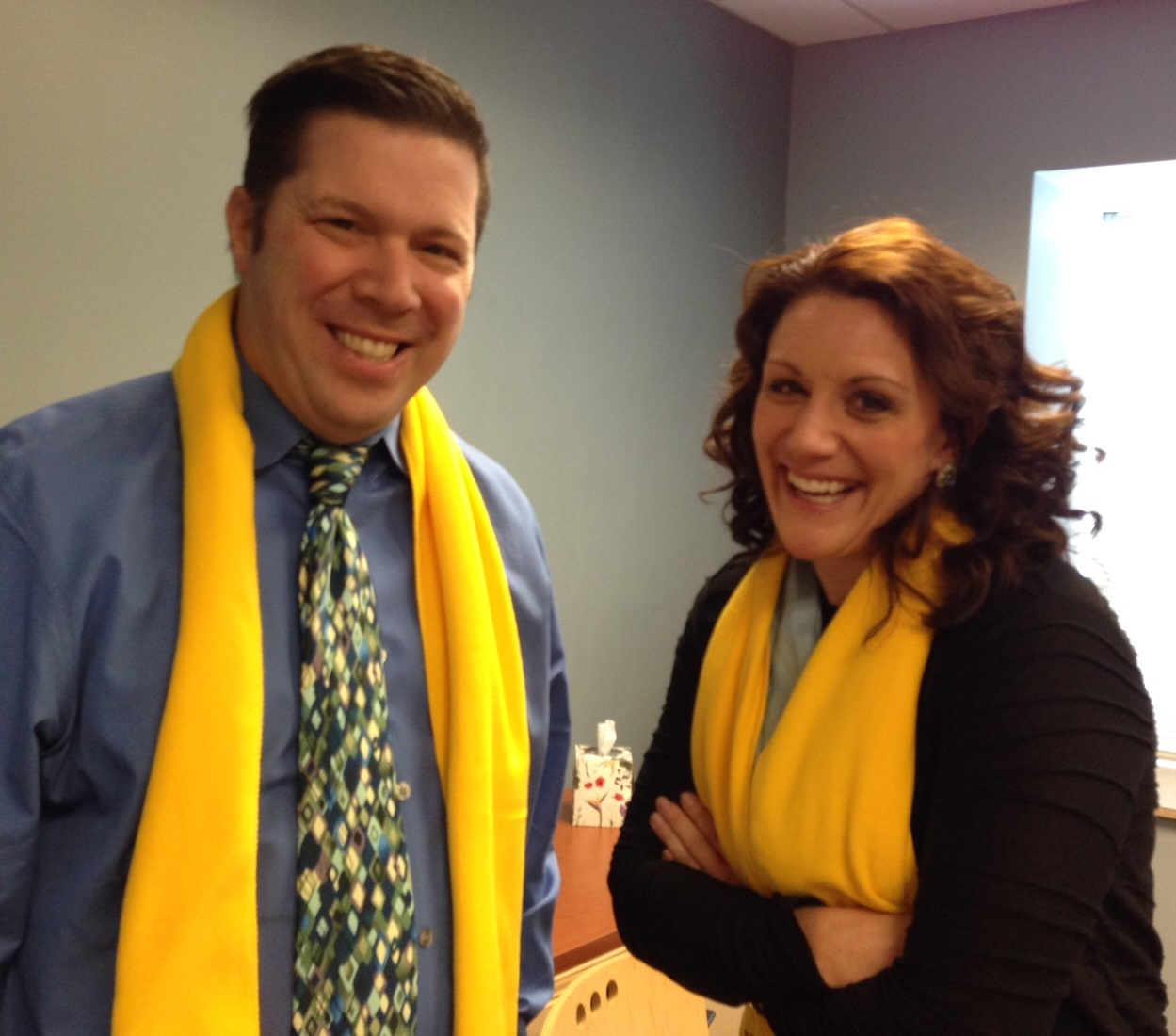 Photo of Admins NSCW Dan and Allison