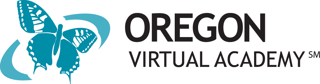 Logo of Oregon Virtual Academy - Powered by K12