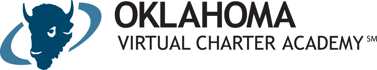Logo of Oklahoma Virtual Charter Academy - Powered by K12