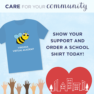 Image of VAVA Care for Your Community Fundraiser T-Shirt