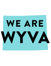 A Graphic that reads We are WYVA