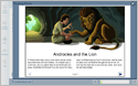 Click to view Androcles and the Lion