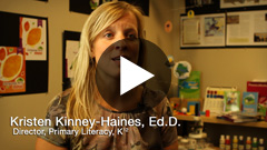 Click to view the K¹² Language Arts Blue video