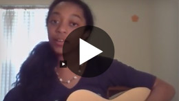 "Watch and listen to TXVA student Krissie R. as she performs ""More Than Words by Extreme"""