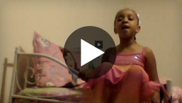 "Watch and listen to MGLVA student Zion H. as she performs ""Excited to be a K¹² Kindergartener"""